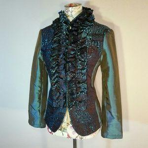 90s Fancy Zipper Jacket